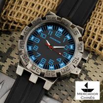 Relógio Infantry Infiltrator If-008 Azul Royal Police