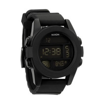 Relogio Nixon Unit A197 000 All Black - Garantia 2 Anos
