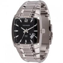 Relógio Technos Classic Legacy Quadrado Em Aço 2315em/1p