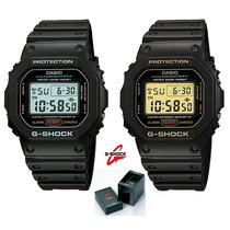 Relogio Casio G Shock Dw 5600 Classico Serie Ouro Ou Prata