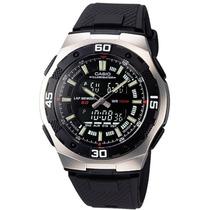 Relógio Casio Aq-164w- 1avdf 100 Metros Crono. 60 Voltas