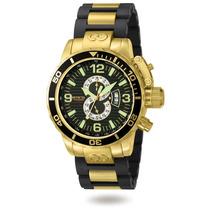 Relógio Invicta Corduba Chrono Ouro 18k Modelo 4900 Original