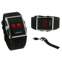 Relógio Led Design Unissex Esportivo Importado Frete Grátis