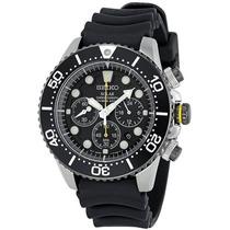 Relógio Seiko Dive Solar Ssc021 Cronografo Mergulho 20 Atm