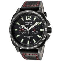 Relógio Invicta 0857 Couro Sport Lindissimo Masculino Luxo