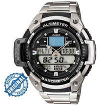 Relógio Casio Outgear Sgw-400-hd Altimetro Barometro Aço
