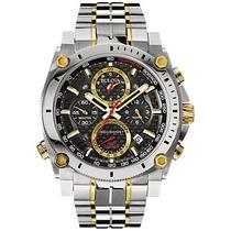 Relógio Bulova Precisionist 98b228 Misto Dourado Lançamento