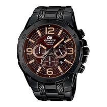 Relógio Casio Edifice Efr-538bk Black Original Efr-538 Novo