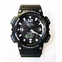 Relógio Casio Illuminator Tough Solar Aq-s810w - Masc