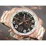 I N V I C T A Relógio Invicta Cronografo Plaque Ouro 14956