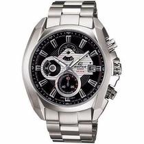 Relógio Casio Edifice Ef548d-1av C/ Cronógrafo Aço Inox Nfe