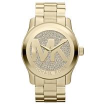 Relógio Michael Kors Mk5473 Dourado Lindo Pronta Entegra