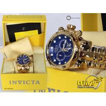 Invicta Original Venom 14504 Loucura Prec 18k Único Original
