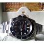 Relógio Eta 2824 Vintage Sea-dweller Dial Preto - Anos 60