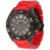 Relógio Michael Kors Masculino | Cronógrafo Silicone Mk8212