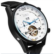 Relógio Clássico Luxo Jaragar Estilo Turbilhão Automático