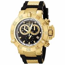 Relógio Masculino Invicta Subaqua Dourado 5514 Frete Gratis