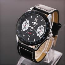 Relógio Automático Winner Data Importado Luxo - Veja O Vidio