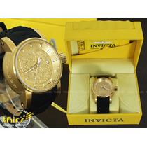 Invicta S1 Yakuza 15863 Automatico Banhado Ouro 18k