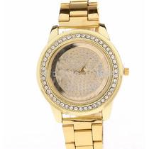 Compre Online Acessórios Relógio Dourado Feminino