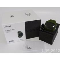 Relógio Analógico Nixon Rubber Player Verde ( A139 1042 )