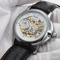 Relógio De Luxo Cjiaba Mecânico Automático Vidro Zafira