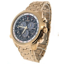 Relógio Citizen Eco Drive Crono Alarme Bl5403-54e Em S.p