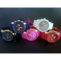 Relógio Feminino Michael Kors Pulseira Silicone