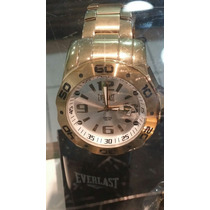 Relogio Everlast Evolved Dourado 50 Mm