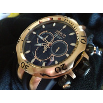 Relógio Invicta Venom Reserve Mod-10830 Plaque Ouro Rosê!