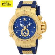 Relógio Invicta 15800 Subaqua Noma 3 Iii Gold 18k Sdx Gratis