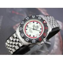 Relógio Original Tag Heuer F1 Suiço Aço Calendário