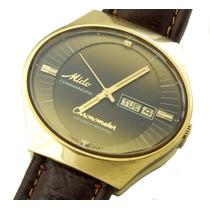 Relógio Mido Chronometer Em Ouro 18k Com Calendário J10844