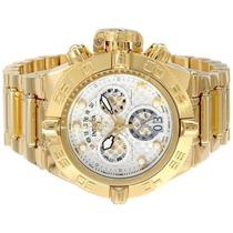 Relógio Invicta 14499 Subaqua Noma 4 Iv Branco 18k Original!