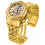 Relógio Invicta Bolt Zeus 13756 Gold/rosê Skelecton Original
