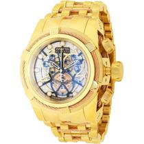 Relógio Invicta 13757 Bolt Reserve Skeleton Caixa E Completo