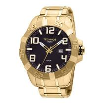 Relógio Technos Legacy 2315aba/4p Folheado A Ouro.