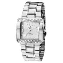 Relógio Champion Feminino Analógico Quadrado Ch24133q