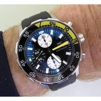 Iwc Aquatimer Cronografo 44mm 120m, Completo.