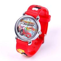 Relógio Carros Infantil Criança Pulseira 3d