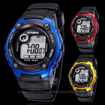 Relógio Sports Digital Led Quartz Alarm Day Date Cores