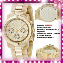 Relógio Michael Kors Mk5139 38mm Madreperola Midsized Novo !