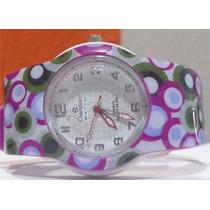Relógio Champion Troca Pulseiras Estampado Varias Cores