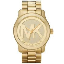 Relógio Michael Kors Mk5473 Dourado 12x S Juros C/caixa