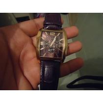 Relógio Guess Luxo Marrom Lindissimo Elegante E Raro!