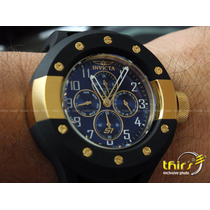 Invicta S1 Rally Original 17392 Banh Ouro 18k Grande 52 Mm
