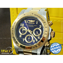 Invicta 17028 Speedway Detalhes Banh A Ouro 18k Lindissimo