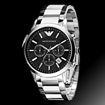 Relógio Empório Armani Ar2434 Casual Original + Sedex Grátis