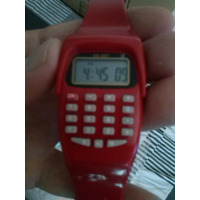 Relógio Digital Infantil Calculadora
