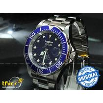 Invicta Automatico 17040 Blue Original Lindo!!! 40mm
